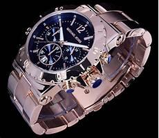 michael kors herren uhr armbanduhr gold farben