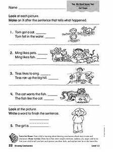 drawing conclusions worksheet for 1st 2nd grade lesson planet