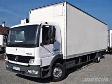 Mercedes Atego 1218 Nl Box 21 Pallets Lift Box