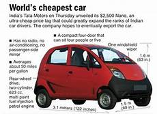 What Is The Most Cheapest Car by World S Cheapest Car Unveiled Costs 2 500 Geekologie