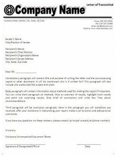 top 5 free letter of transmittal templates word templates excel templates