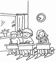 kostenlose malvorlage einschulung kinder in der schule