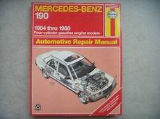 online auto repair manual 1987 mercedes benz w201 electronic valve timing mercedes benz 190 haynes repair manual service guide 1984 1988 book 63015 ebay