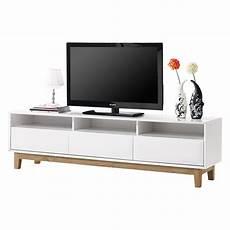 tv lowboard weiss tv lowboard melia hochglanz wei 223 eiche home24