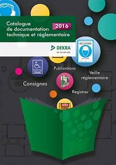 Catalogue Documentation Technique Et R 233 Glementaire 2016 By