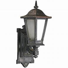 1910 single cast iron outdoor sconce for sale at 1stdibs