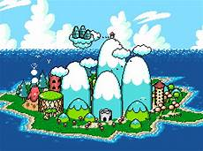 Malvorlagen Mario Und Yoshi Island Mario World 2 Yoshi S Island Map Poster Nerdemia