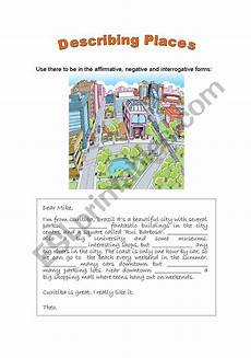describing places worksheets printables 15977 describing places esl worksheet by ress