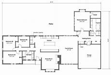 2700 square foot house plans ranch style house plan 4 beds 2 baths 2700 sq ft plan