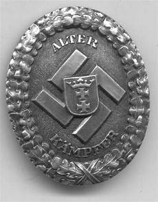 was sind badges ailsby collection gau danzig commemorative badge