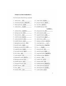 names and formulas of ionic compounds answers names and formulas of ionic compounds answers