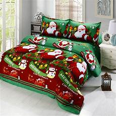 merry christmas santa claus bedding sets holiday queen by anself ebay