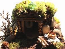 Elfenhaus Selber Bauen - elfenhaus selber bauen gartendekoration elfen haus keramik