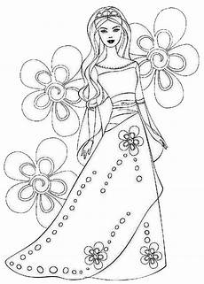 flower princess coloring pages coloring home