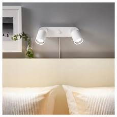 nym 197 ne wall l double with light bulbs white ikea