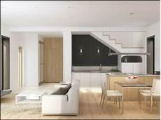 wohnzimmer küche esszimmer attraktive kombination wohn und esszimmer