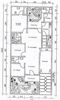 Gambarrumahminimalisdot Rumah Minimalis Ukuran Tanah 10x20
