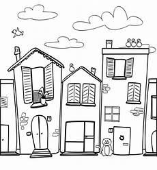 malvorlagen house free colouring in pages german site malvorlagen haus