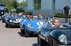 jaguar le mans wins legendary le mans winning jaguar d types reunited
