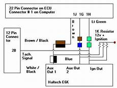 haltech e6x base map