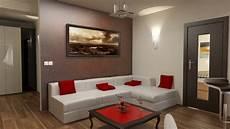 wohnzimmer einrichten 3d bilder 3d interieur wohnzimmer rot wei 223 2