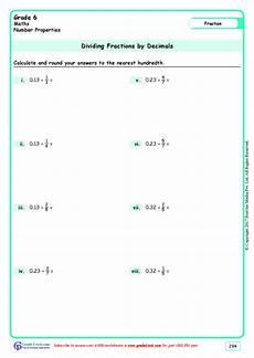 maths worksheets for grade 6 decimals cbse 7490 grade1to6 free maths worksheets
