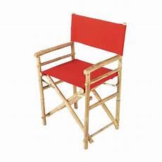 fauteuil de jardin pliable fauteuil pliant de jardin en bambou robinson maisons du monde