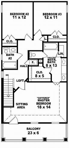 two storey narrow lot house plans 653584 2 story traditional plan perfect for a narrow
