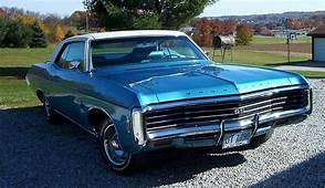 1969 Impala Sport Coupe With Hideaway Headlights  Sports