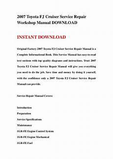 service repair manual free download 2007 toyota fj cruiser seat position control 2007 toyota fj cruiser service repair workshop manual download
