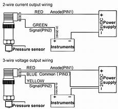 Pressure Sensor For Air Water 4 20ma 0 5v Rs485