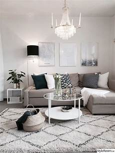Wohnzimmer Ideen Grau Beige - beautiful small living room in neutral colors grey beige