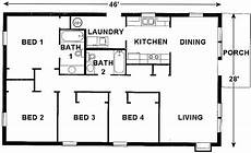 habitat for humanity house plans plan 1288 national affordable housing network