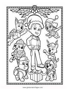 Ausmalbilder Weihnachten Paw Patrol Paw Patrol 03 Gratis Malvorlage In Comic