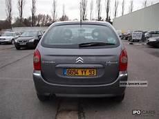 2004 Citroen Xsara Picasso Hdi 110 2l Exclusif Car Photo