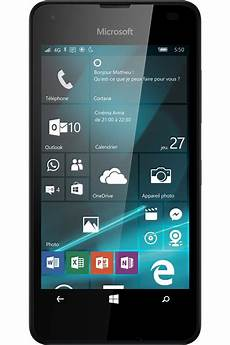 prix windows 10 smartphone microsoft lumia 550 noir 4181743 darty