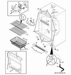 ge upright freezer wire diagram ge model fuf21svdrww upright freezer genuine parts