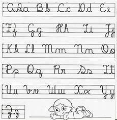 09 alfabeto em letra minuscula cursiva caligrafia cantinho educar com alfabeto letra