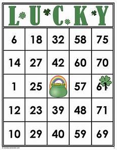 s day bingo printable free 20509 bingo cards 35 lucky bingo cards free bingo cards bingo cards bingo printable