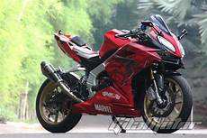 Modifikasi Cbr250rr by Modifikasi All New Honda Cbr250rr Pakai Kostum Manusia