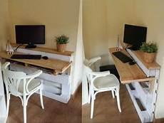 faire un bureau en bois bureau en bois 34 id 233 es diy tr 232 s cool en palette europe