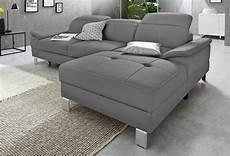 exxpo sofa fashion ecksofa wahlweise mit bettfunktion