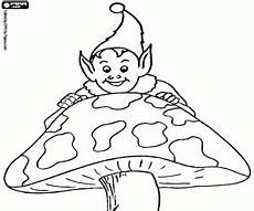 Ausmalbilder Elfen Und Kobolde Ausmalbilder Kobold Elfen Gnomen Malvorlagen
