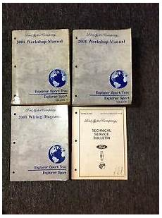 free download parts manuals 2001 ford explorer sport security system 2001 ford explorer sport trac service shop repair manual set w ewd tsb oem ebay