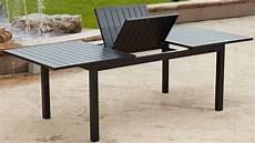 table aluminium jardin table de jardin aluminium extensible