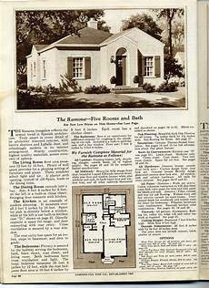gordon van tine house plans gordon van tine plan cut homes the ramona daily