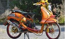 Modifikasi Motor Scoopy Karbu by Kumpulan Gambar Modifikasi Motor Scoopy Sangat Keren Buat