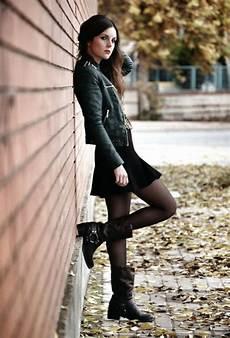 Mode Rock Chic Femme