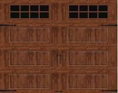 garage doors 8 x 10 ideal door 174 designer oak garage door with windows at