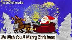 we wish you a merry weihnachtslieder